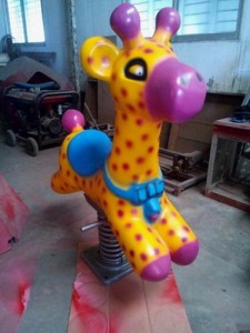 Deer Spring Ride | Amusement Park Equipments