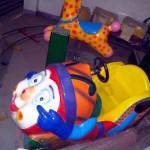 Cartoon Car Kiddy Ride   Amusement Park Products