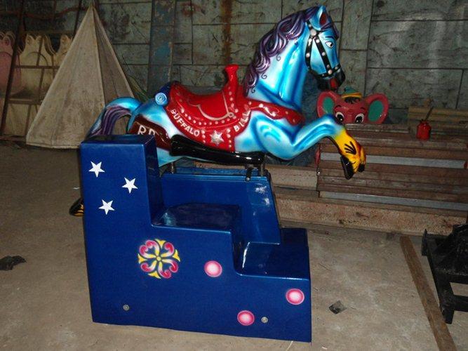 Big Horse Kiddie Ride Amusement Park Machines