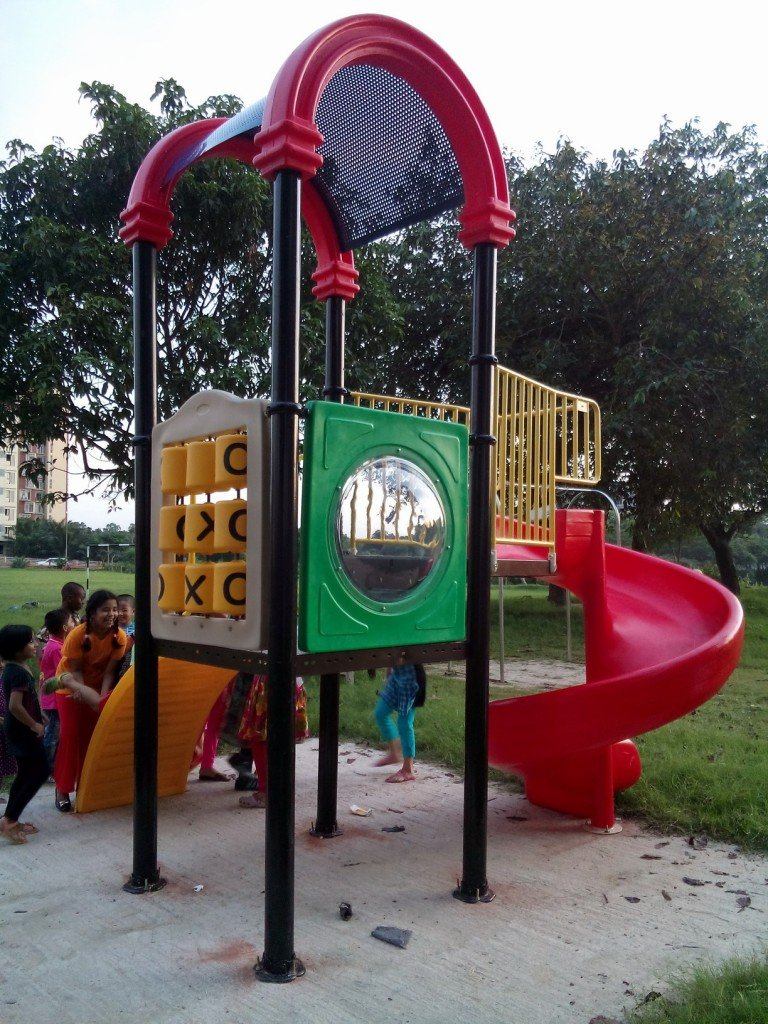 Multi Activity Play System | Playground Equipment Manufacturer In Bangladesh