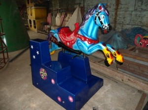 Big Horse Kiddie Ride | Amusement Park Machines Manufacturer in bangladesh