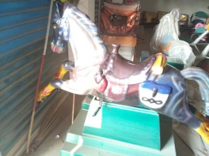 Big Horse Kiddie Ride | Amusement Park Machines Manufacturer in bd