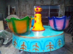 Flower Cup | Amusement Park Manufacturer