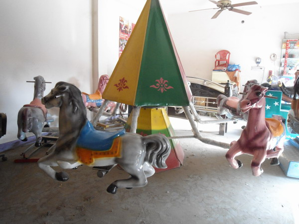Mini Merry Go Round | Niribili Picnic Spot | Jessore | Picnic Spot Ride Manufacturer Bangladesh